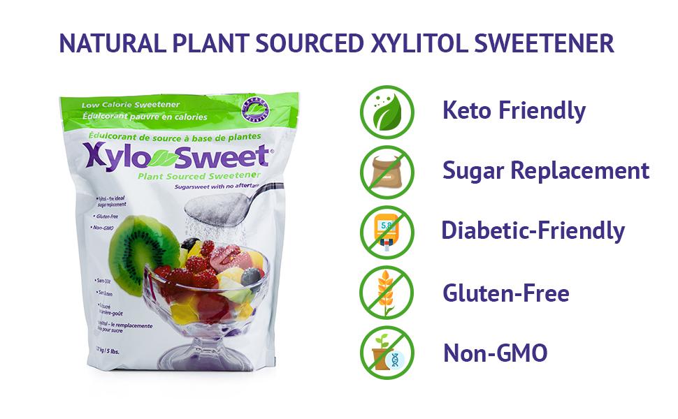 sugar free powdered sugar xilytol sugar