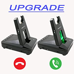 Innotalk wireless headset visual call notification