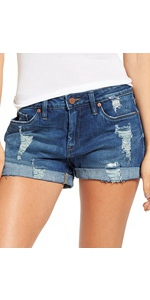 women sohrts denim shorts for women summer casual shorts