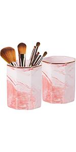 pink pen holder