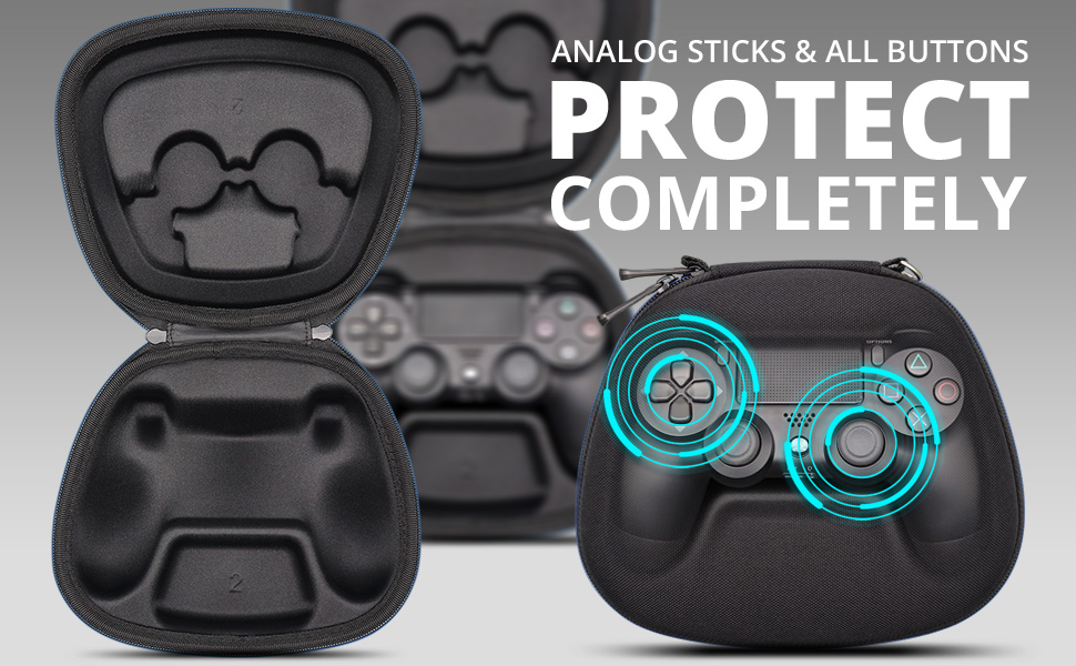 ps4 game controller fit playStation official dualShock 4 wireless controller storage case pouch