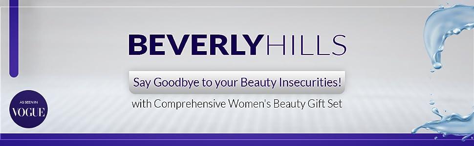 beverly hills women's skin care gift set kit instant facelift wrinkles eye cream dark circles