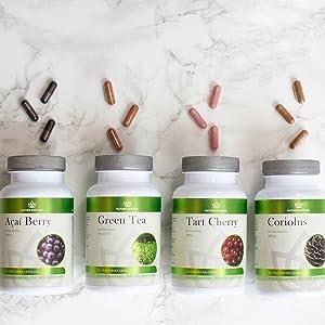 nature restore organic superfoods supplements acai berry antioxidant