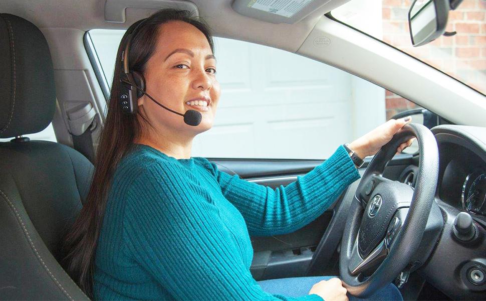 bluetooth wireless headset for trucker