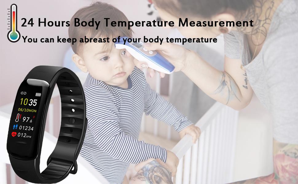 24h body temperature