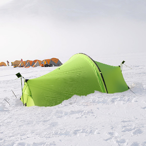 Andake Ultralight Tent, Waterproof 1 Person Camping Tent, Double Wall Backpacking Tent (1206 g)