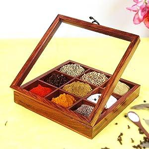 masala dabba set for kitchen storage box set for kitchen