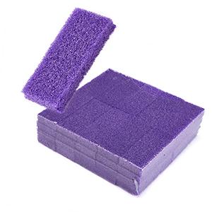 Amazon Com Disposable Pedicure Scrubber Callus Remover Pumice Stone For Foot Care Purple Coarse 40 Pcs Beauty