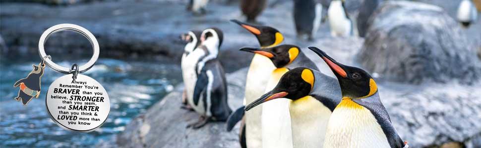 penguin jewelry gift