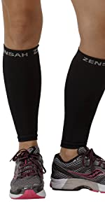 Zensah calf/shin splint compression sleeves sold as a pair