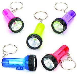 Flashlight Key Rings