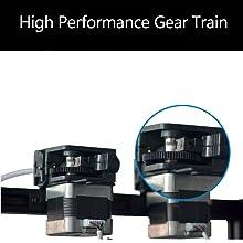 high performance gear train