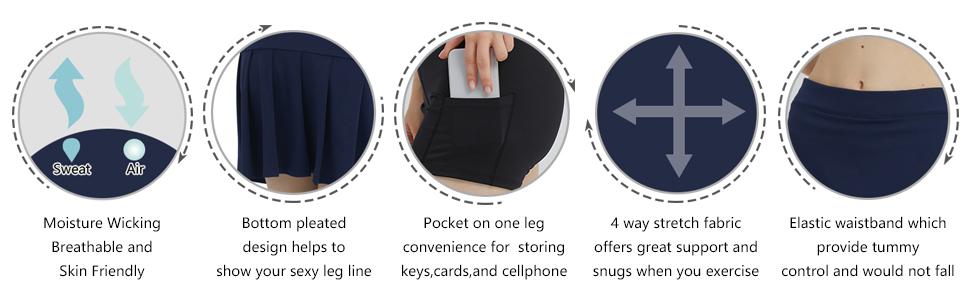 Advantages of PCGAGA skirt