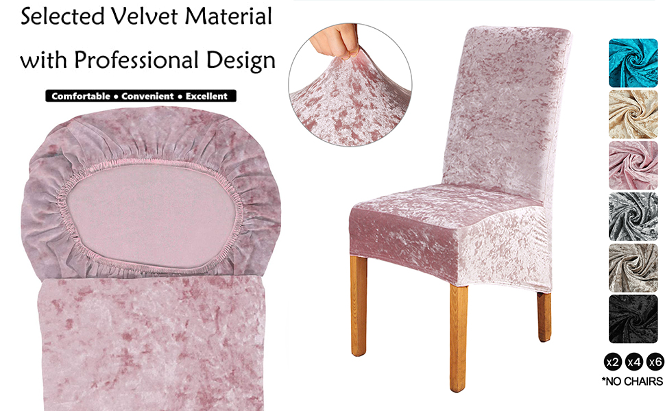 4, Jian Ya Na Chair Protector Cover Slipcover, Pink Flower 4-Pack Stretch Removable Washable Spandex Chair Cover for Dining Room Wedding Banquet Decoration
