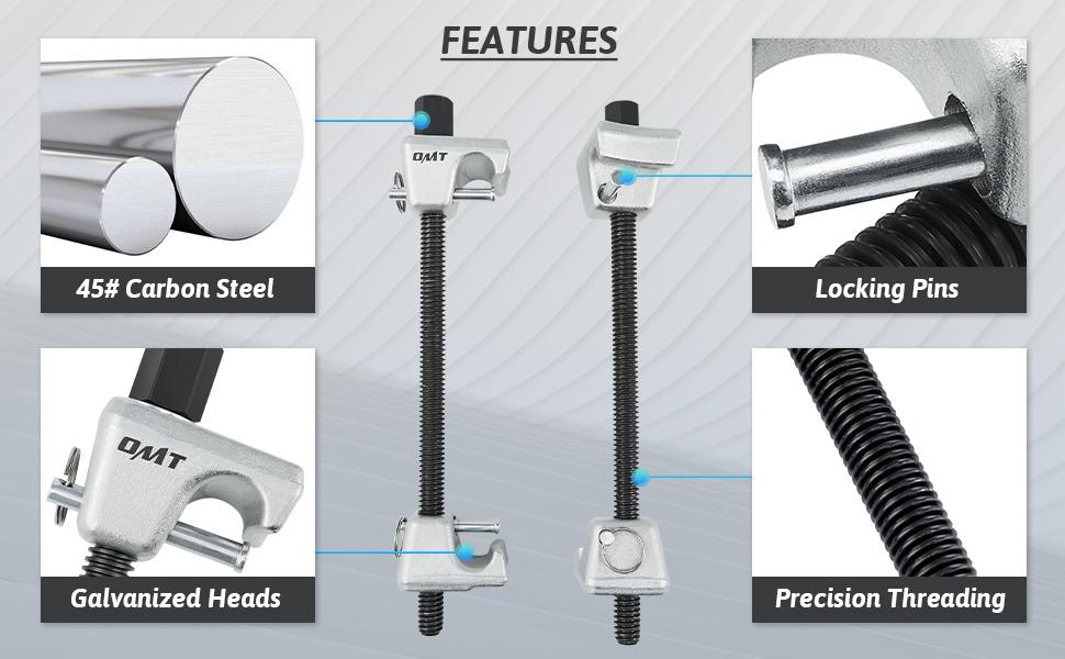 strut spring compressor kit
