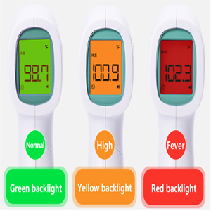 Digital Infraded thermometer readings in facility or industry