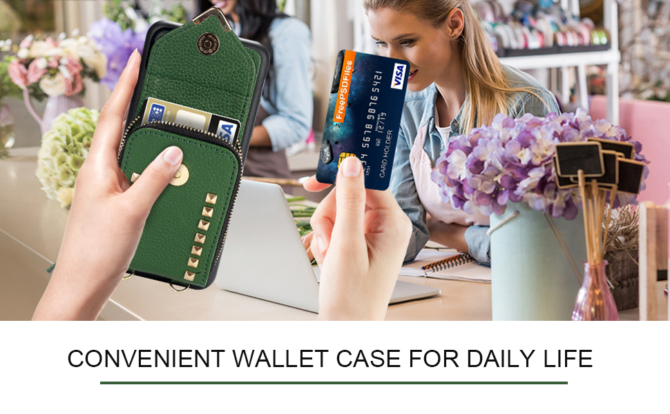 Convenient Wallet Case for Daily Life