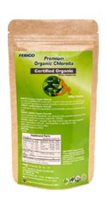 usda organic chlorella 500mg tablets
