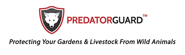 PREDATOR GUARD - protecting your gardens and livestock from wild animals