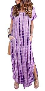 Casual Pockets Dress