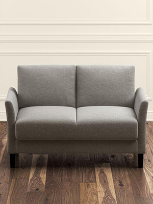 zinus B5432G loveseat sofa 2 seater sofa