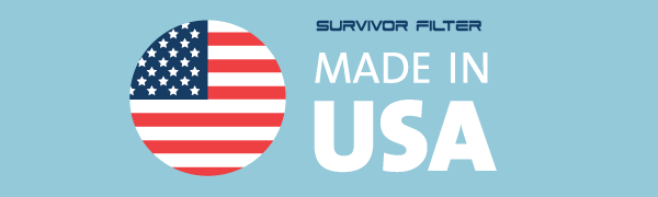 survivor filter Made in USA water filter bottle