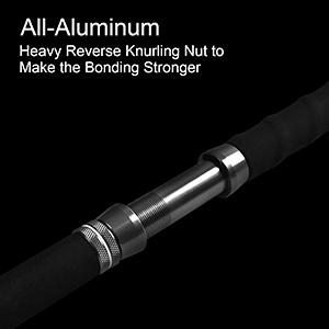 All-Aluminum;Heavy Reverse Knurling Nut to make the bonding stronger
