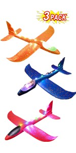 foam plane model for kids glider styrofoam planes airplane toys gifts party favors boys flying