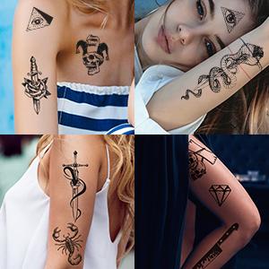 Halloween tattoos 5