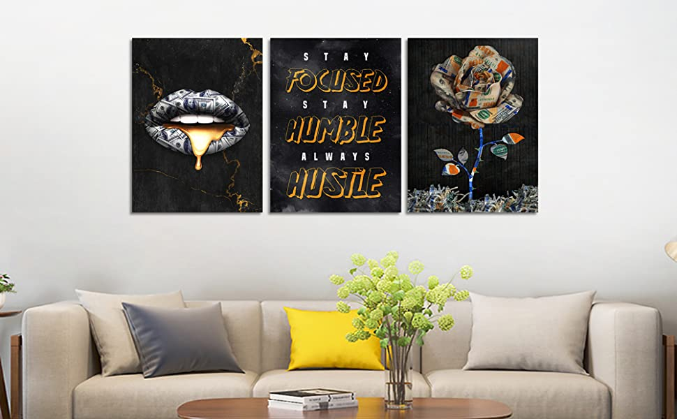 Entrepreneur Positive Quotes Office Wall Decor for Office Living Room