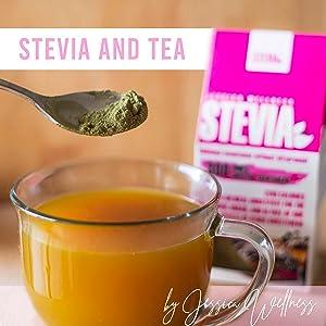 tea and stevia