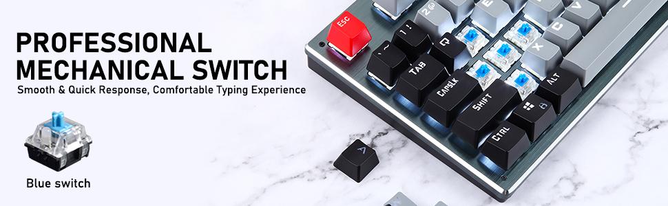 compact mechanical gaming keyboard
