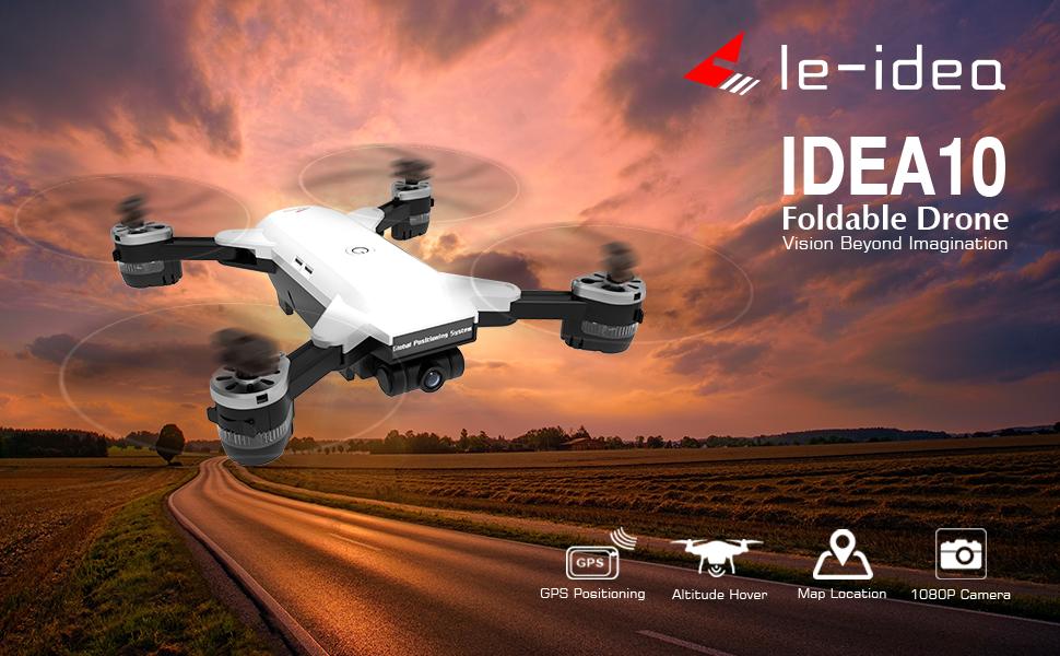 IDEA10 GPS Drone with Camera