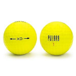 yellow xtra distance golf balls