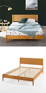 Mid Century Bed Frame Wood