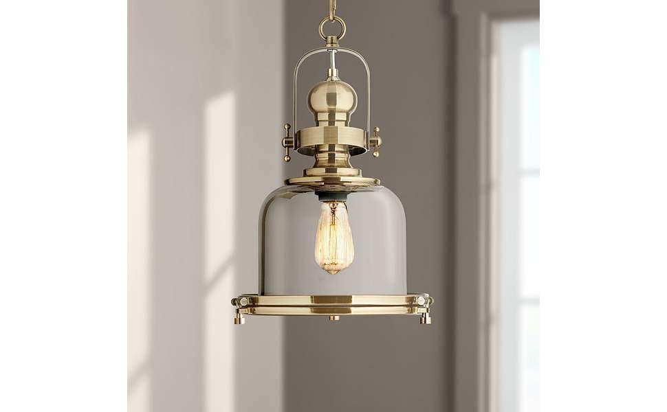 Antique Brass Light Fixture