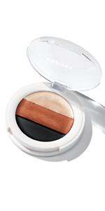 undone beauty 3 in 1 eye palette eyeshadow eyeliner eye primer multitasking palette makeup