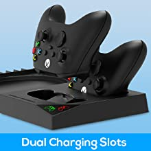 dual charger station for Xbox series X