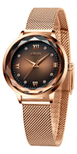 civo womens watches ladies watches rose gold dress watches