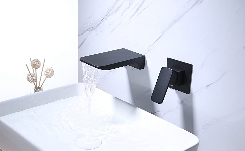wall mouted faucet