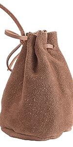 handtasche retro lederbeutel bauch waist kleine vintage männertasche alltag tabak tabaktasche