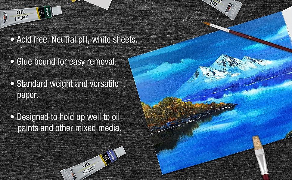 Artist Oil Painting Paper Pad