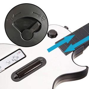Guitarra Wii Blanca,DOYO Controlador de Guitarra Wii desmontable ...