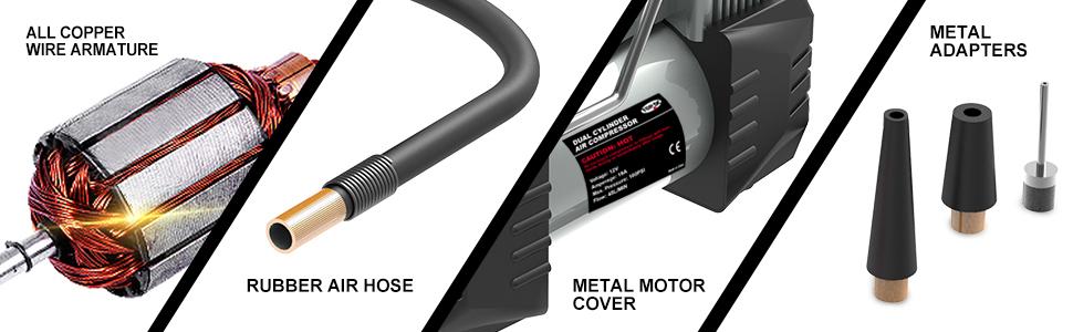 tire inflator air compressor