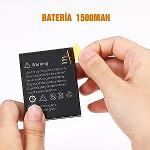batería 1500 mAh