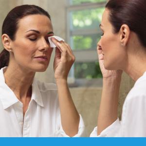4-terpineol eyelid cleanser to alleviate symptoms of demodex, blepharitis, dry eye, meibomian gland