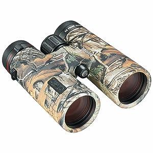 Three quarter view of Bushnell Legend L-series Binoculars