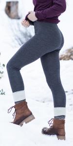 MERIWOOL 250g Womens Leggings are 100% all natural Merino wool ensures comfort all day long