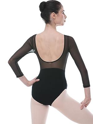 ballet leotards for girls long sleeve