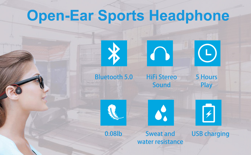 open ear headphone